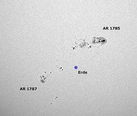 Sonnenfleck AR 1785