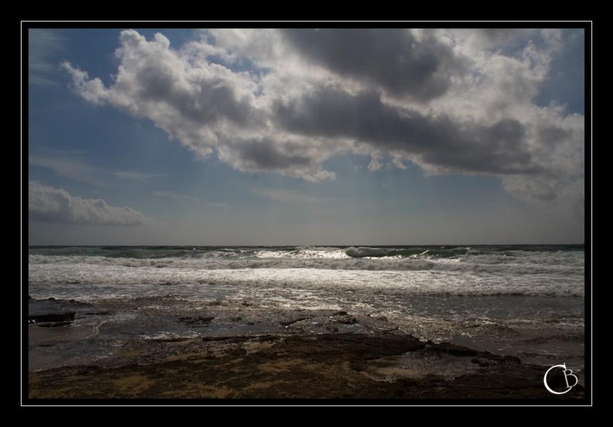Sonnenfleck auf Sardinien