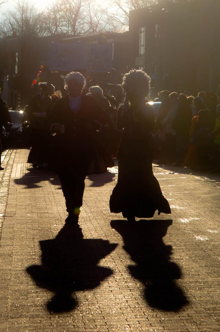 Sonnenkönig im Karneval