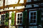 Sonnenlicht auf alten Häusern 2