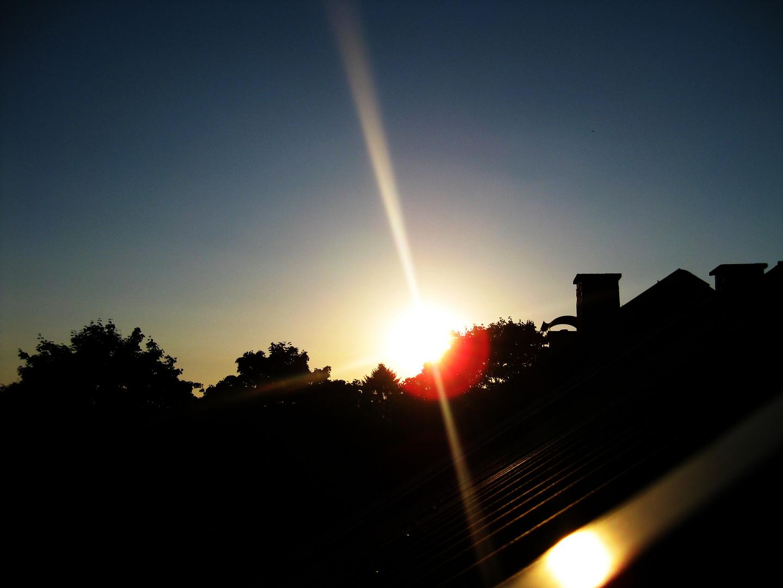 Sonnenlicht, das mag ich nicht...