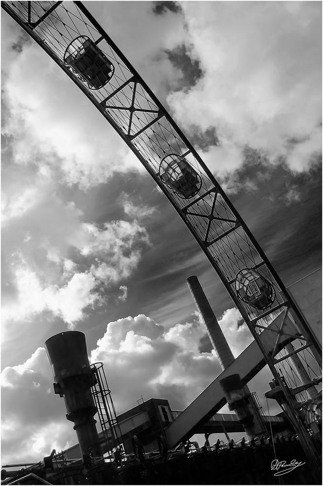 Sonnenrad auf Zollverein