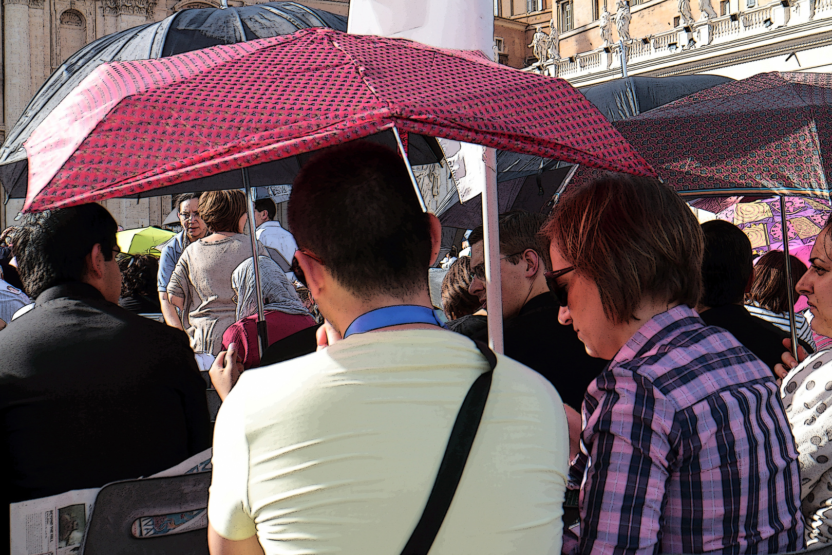 Sonnenschirm?