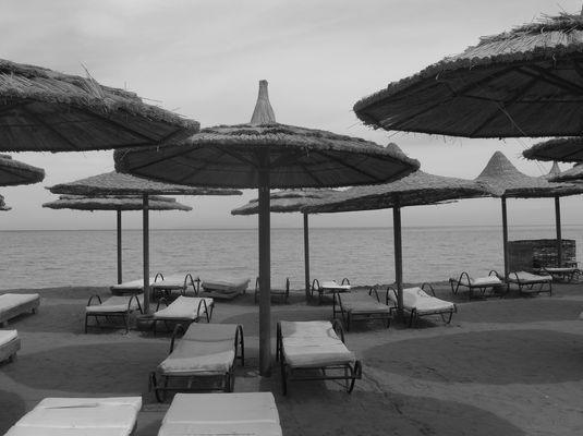 Sonnenschirme - in Hurghada