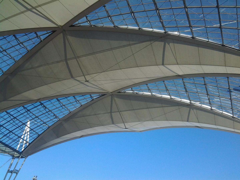 Sonnensegel Flughafen München MAC