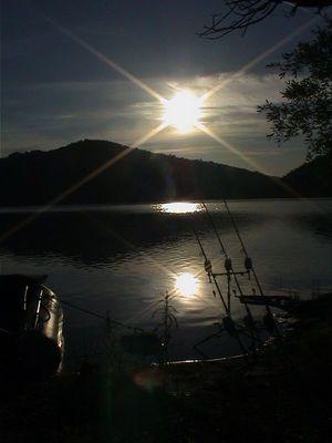 Sonnenspiel in Frankreich