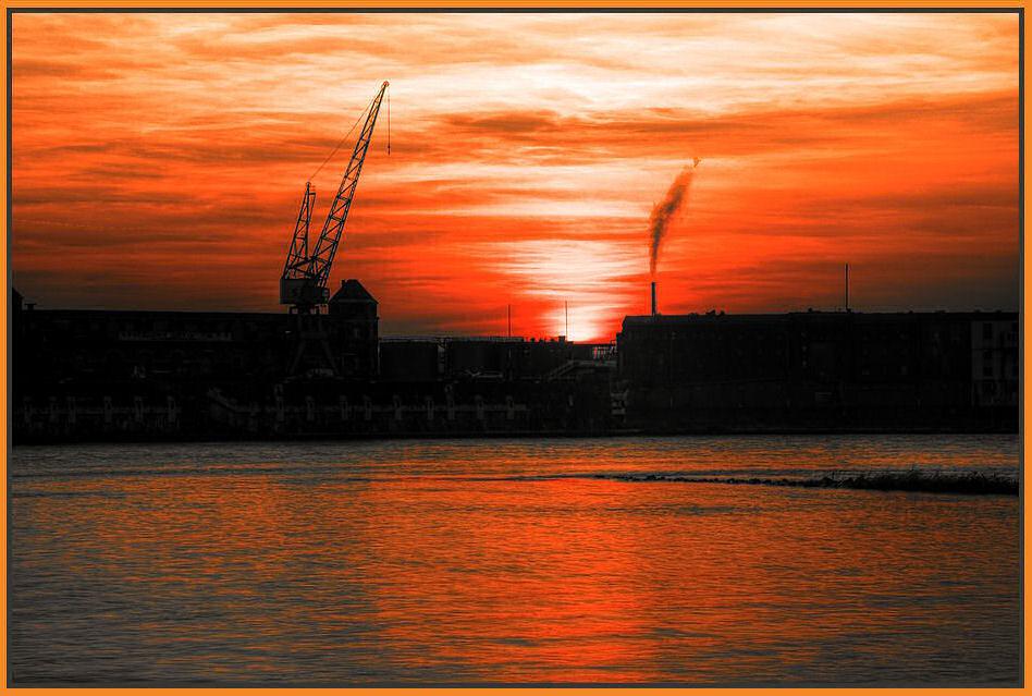 Sonnenstrudel in orange ...
