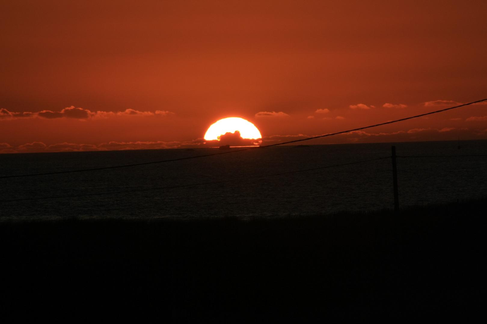 Sonnenuntegang (Bretagne)