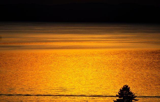 Sonnenuntergänge am See