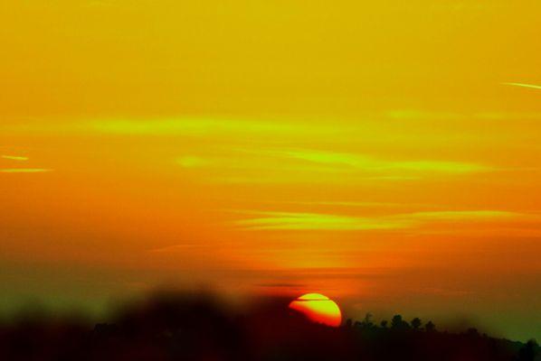 Sonnenuntergänge auf der Insel