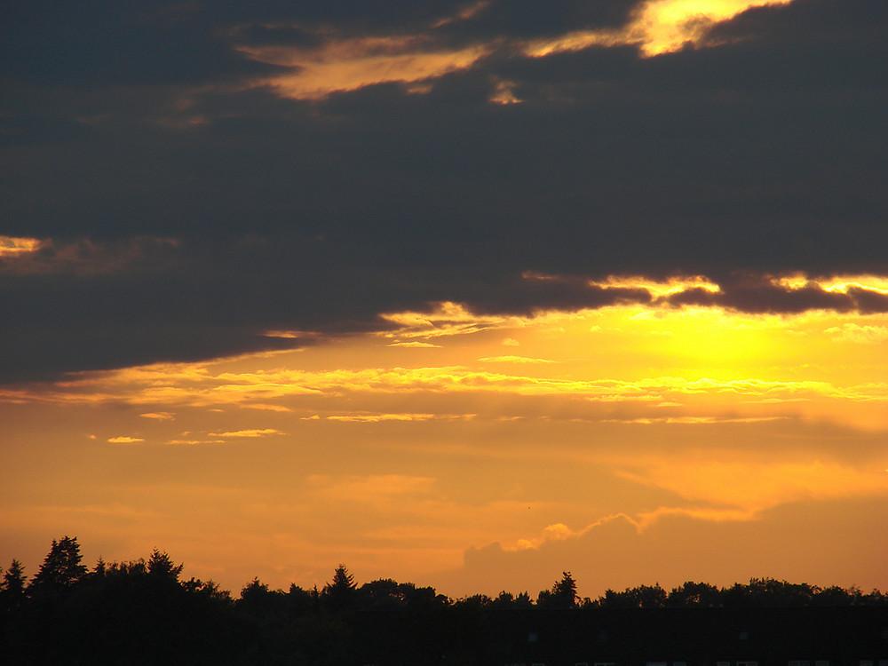 Sonnenuntergänge gehen immer!