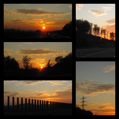 Sonnenuntergänge in NRW