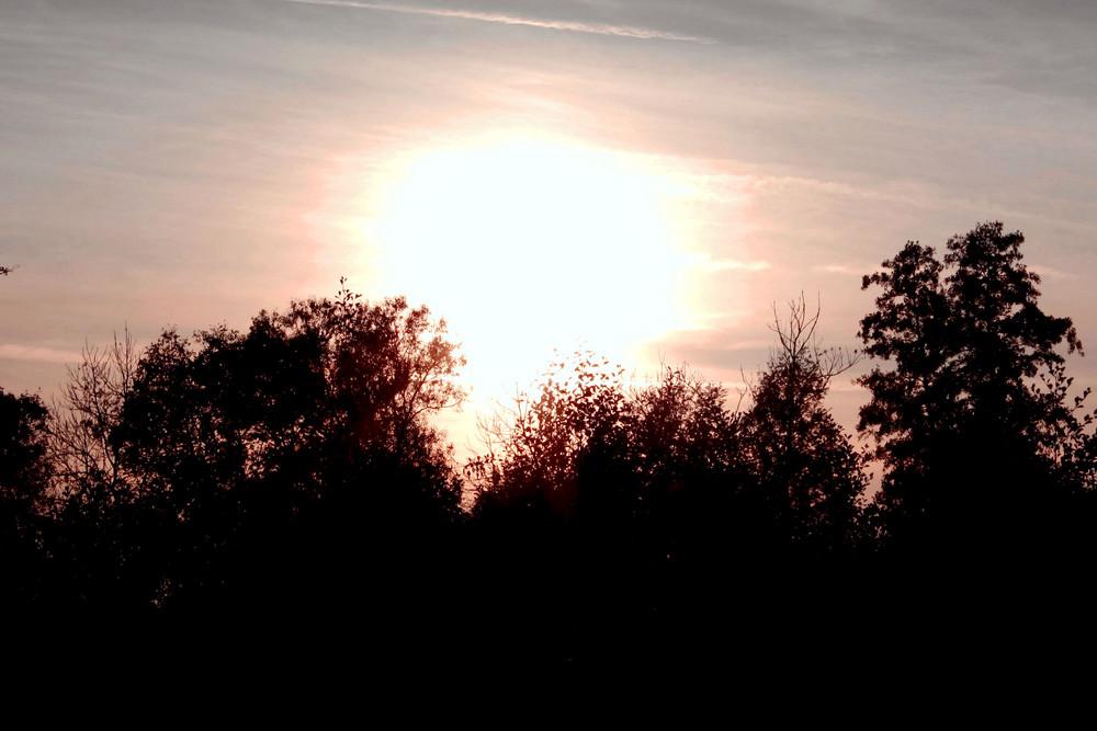 Sonnenuntergänge sind immer schön