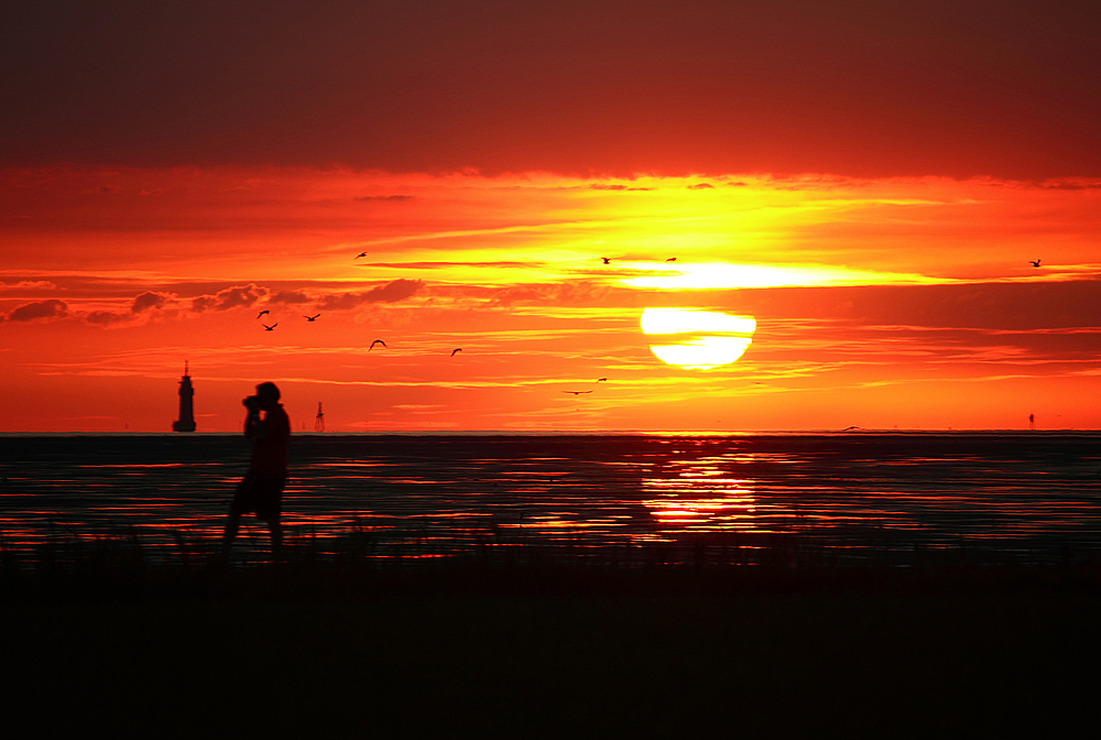 Sonnenuntergang 04.08.2013
