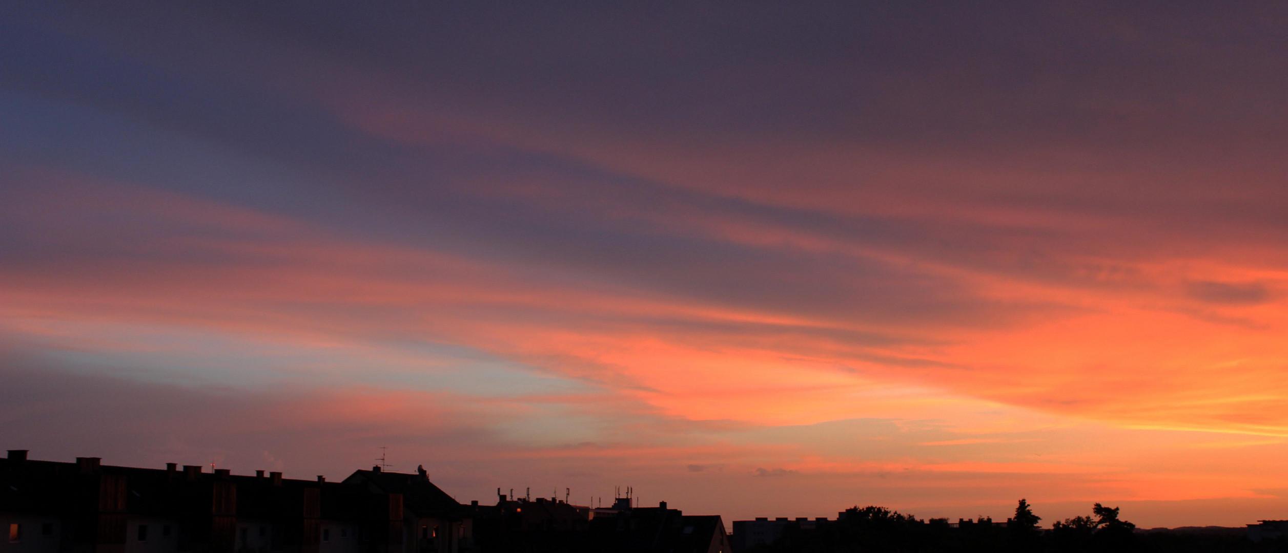 Sonnenuntergang 06.08.2013