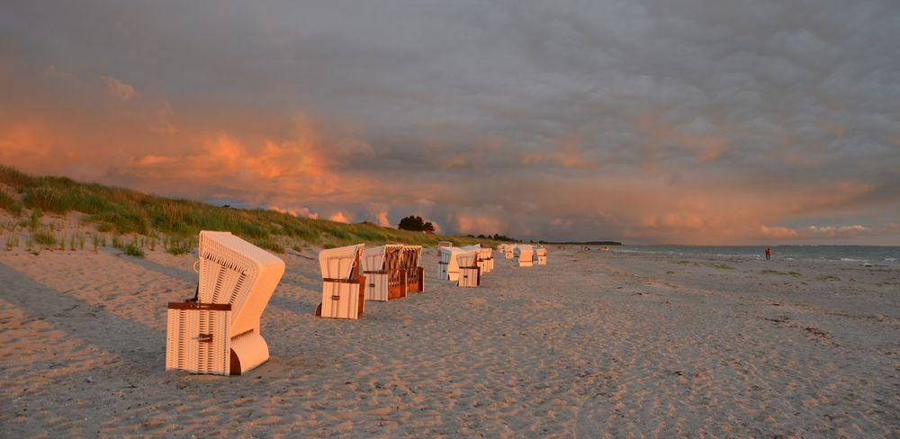 Sonnenuntergang 12.Juli Hiddensee