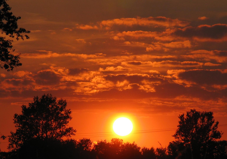 Sonnenuntergang 16.08.2012