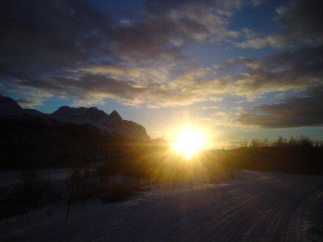 Sonnenuntergang 18.02.2011