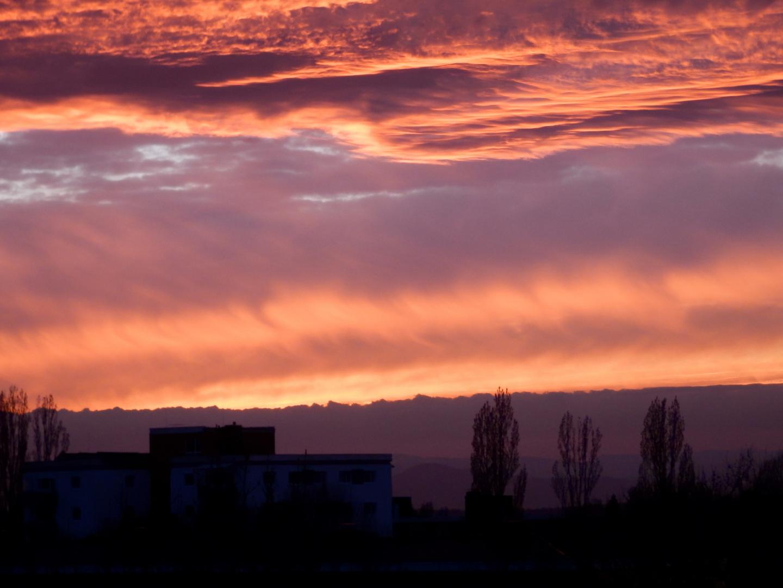 Sonnenuntergang 18.03.2014 - II