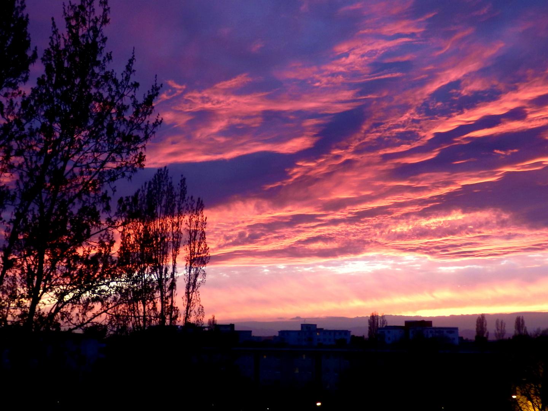 Sonnenuntergang 18.03.2014 - III