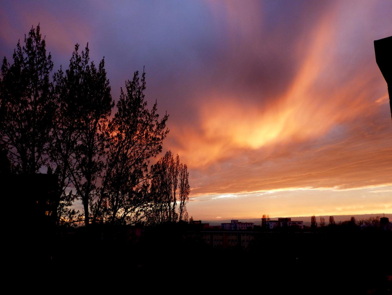 Sonnenuntergang 18.03.2014 - IV