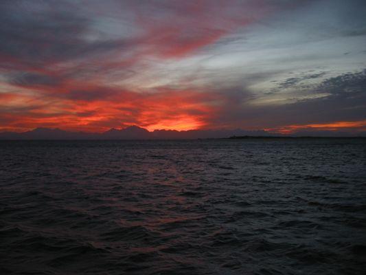 Sonnenuntergang 2 - ohne Rahmen