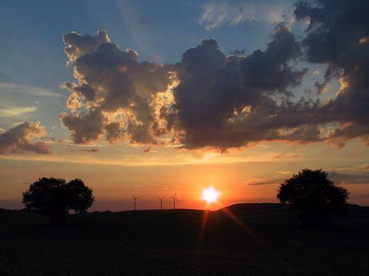 Sonnenuntergang 2005