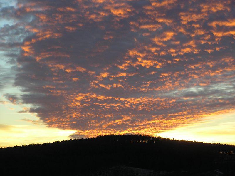 Sonnenuntergang 24.12.03