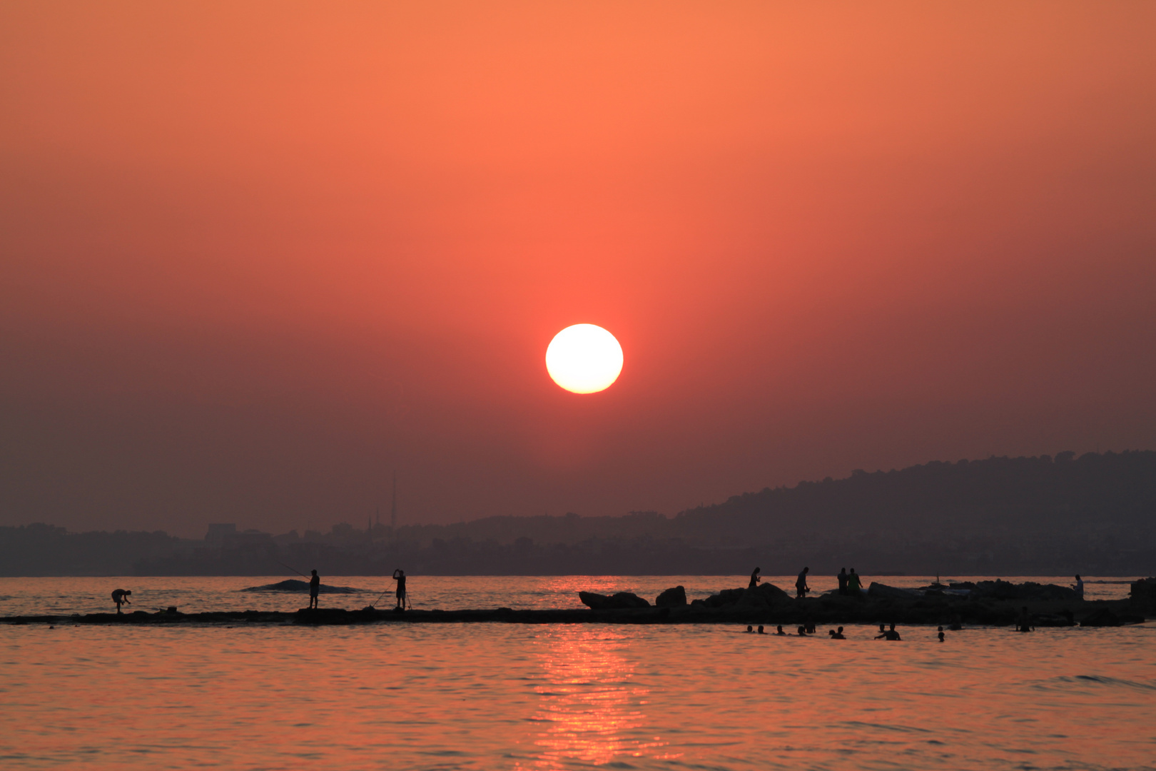 Sonnenuntergang 28.06.2013 (2)