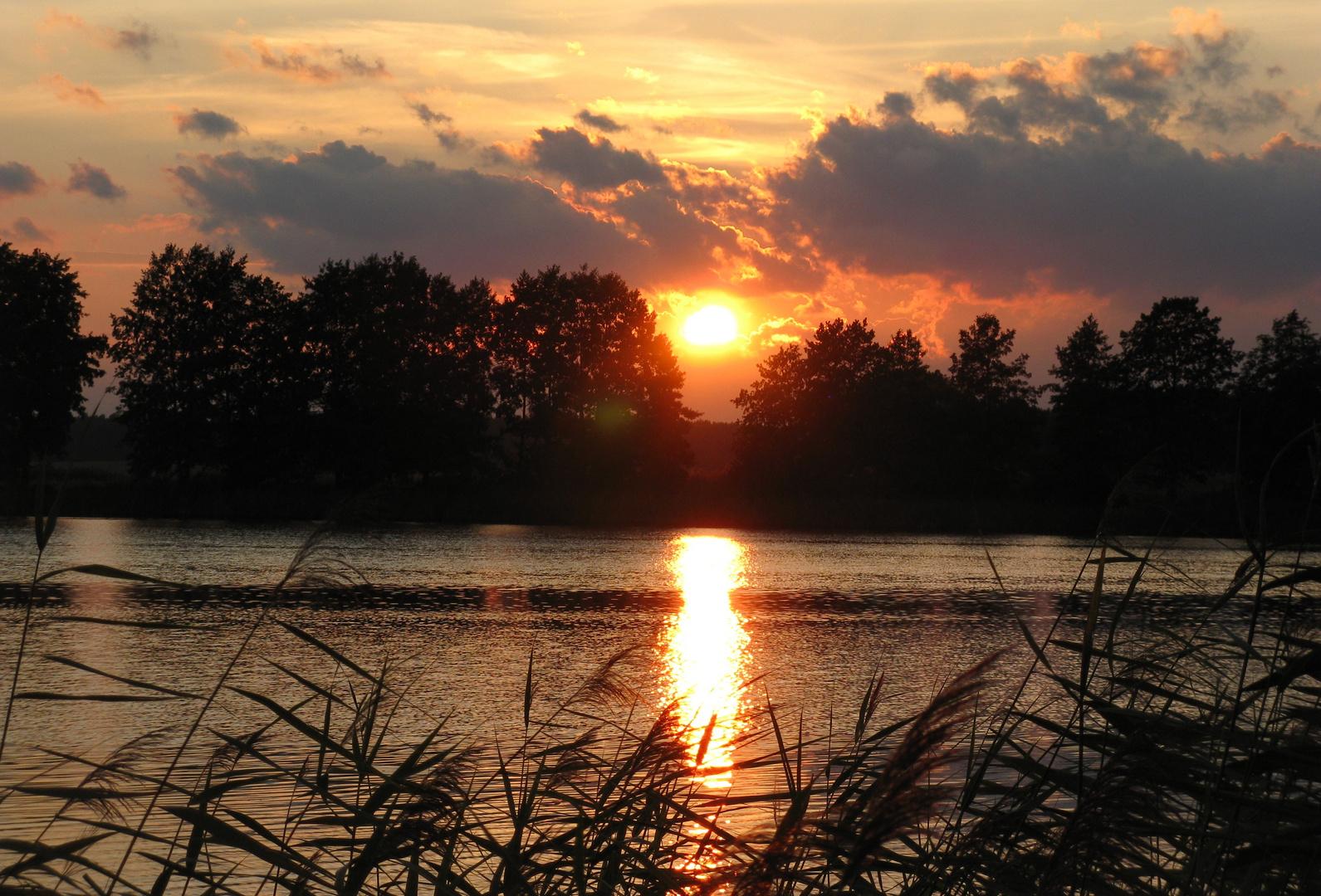 Sonnenuntergang 28.08.2012