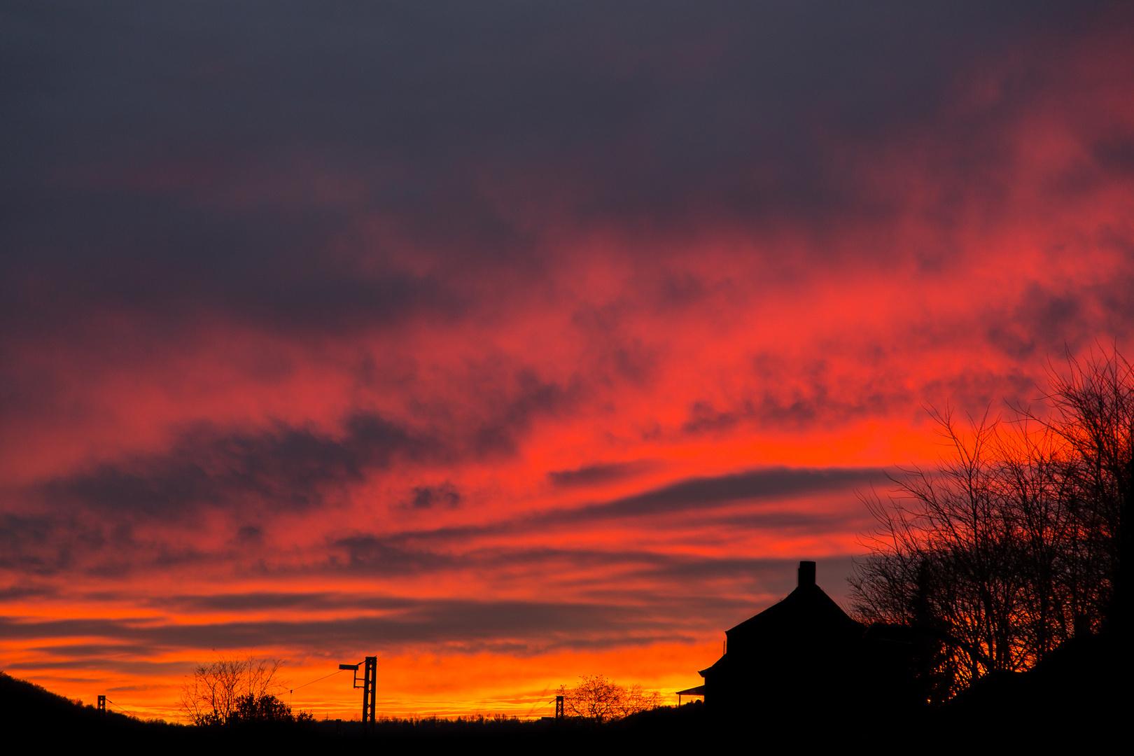 Sonnenuntergang 29.12.12