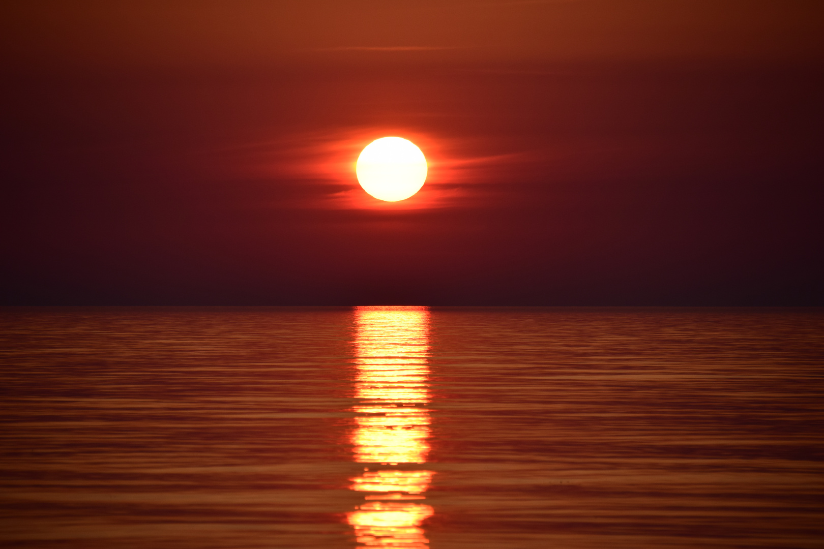 Sonnenuntergang ....