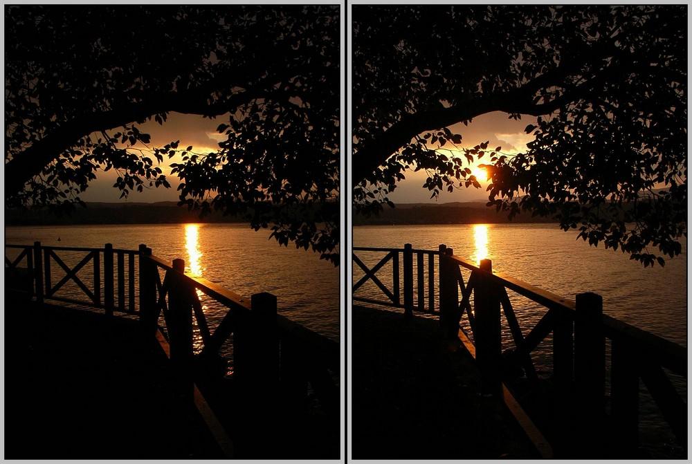 Sonnenuntergang 3D
