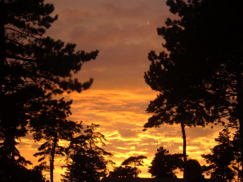 Sonnenuntergang!