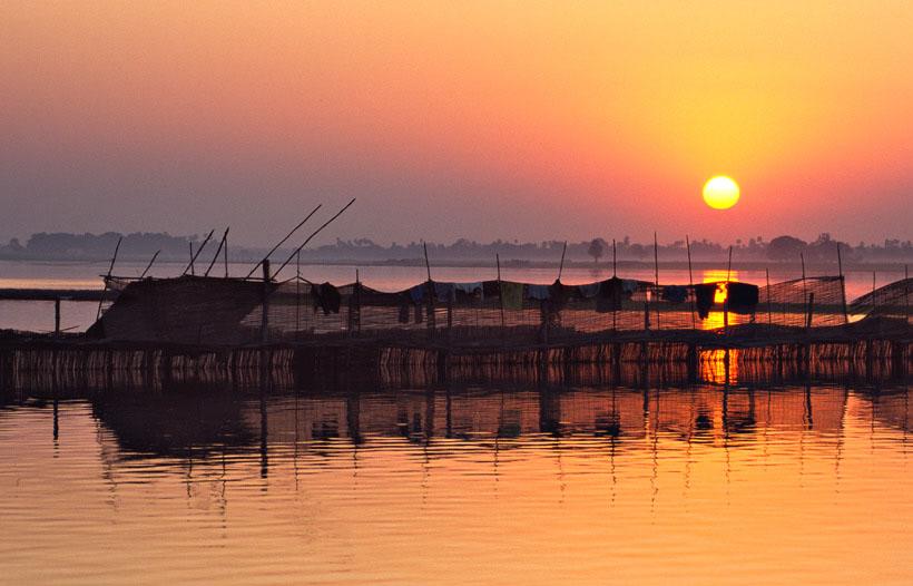 Sonnenuntergang von Marianne u. Ueli Wolleb