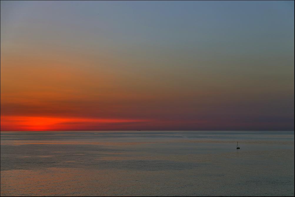 - Sonnenuntergang -