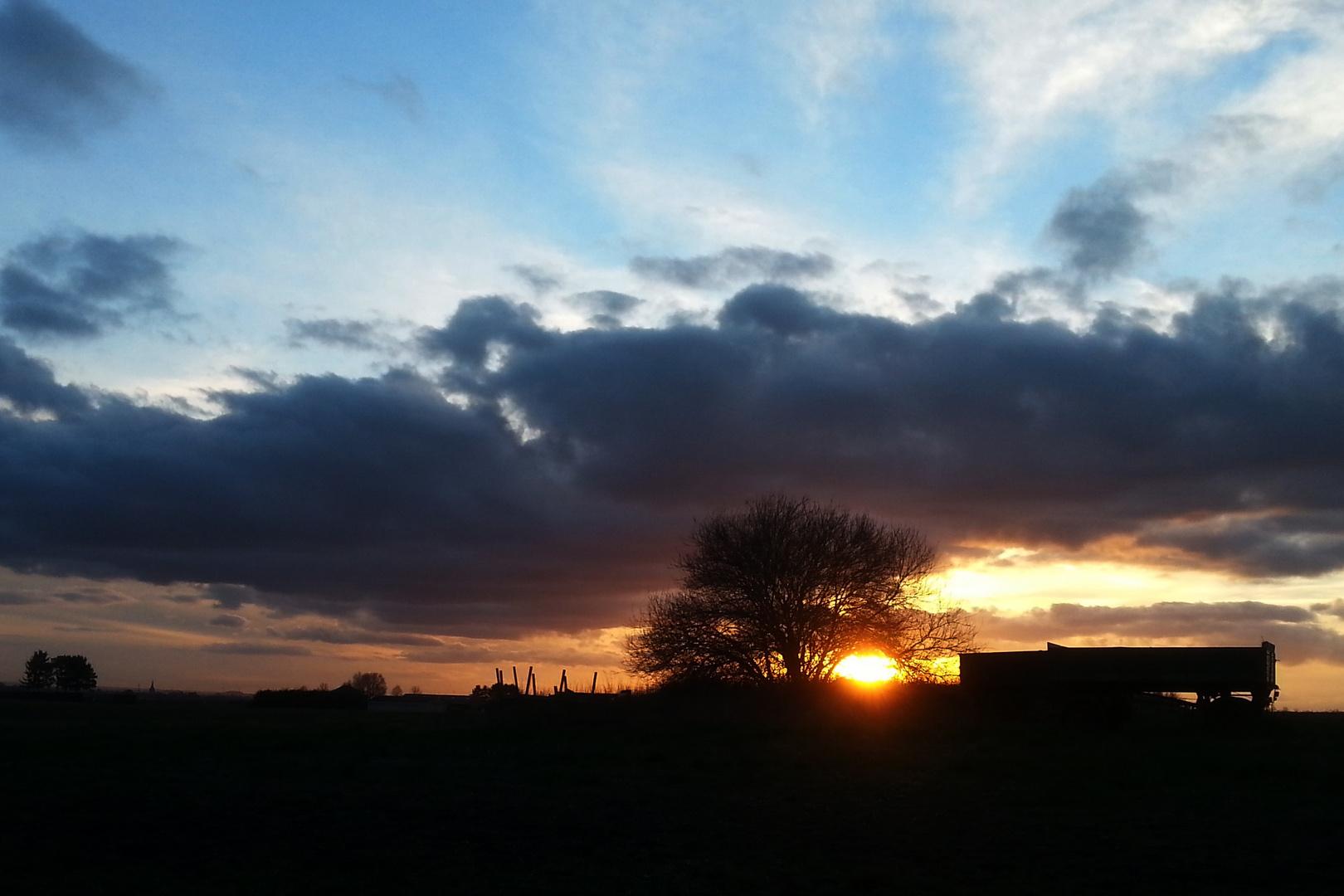 ++ Sonnenuntergang ++