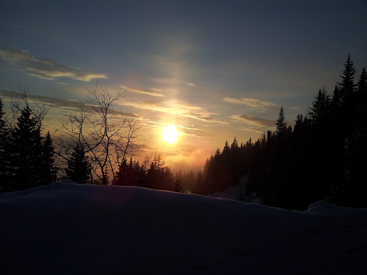 Sonnenuntergang *