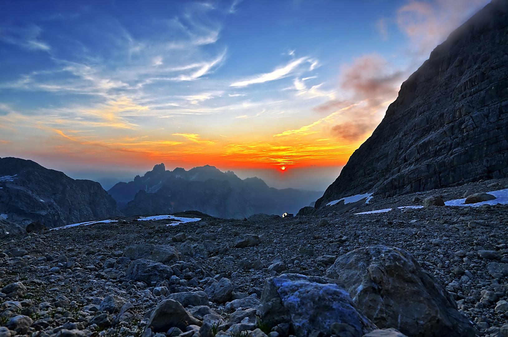 Sonnenuntergang Adamek