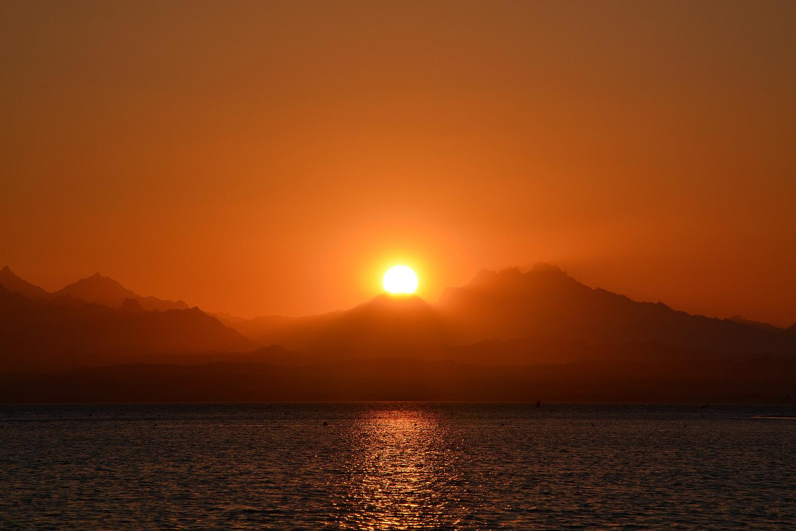 Sonnenuntergang Ägypten