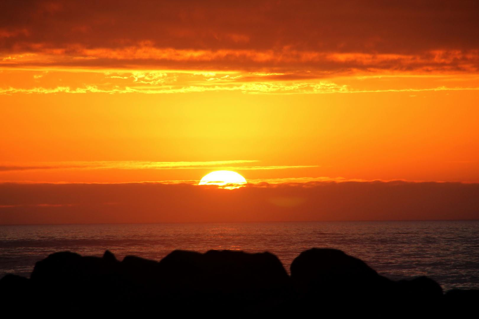 Sonnenuntergang | Africa Swakopmund