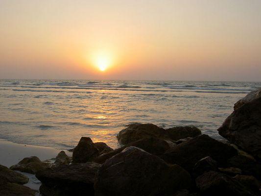 Sonnenuntergang Ajman