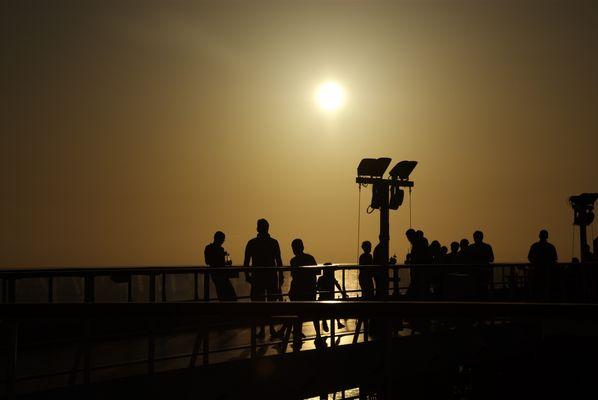 Sonnenuntergang - Alle lieben ihn