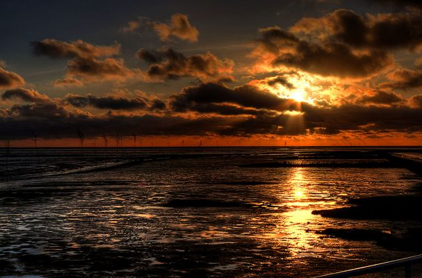 Sonnenuntergang als HDR