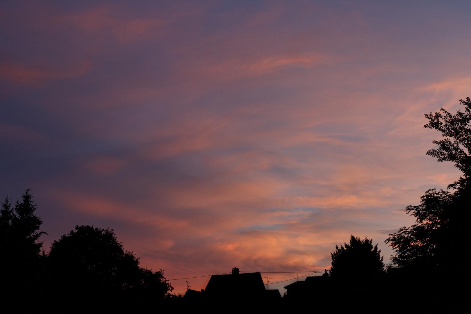 Sonnenuntergang am 05.08.13