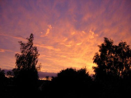 Sonnenuntergang am 17.07.02