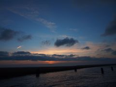 Sonnenuntergang am Bodden bei Zingst II