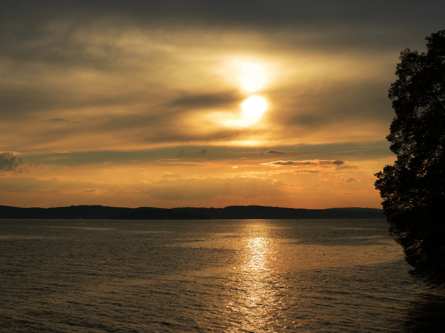 Sonnenuntergang am Bodensee II