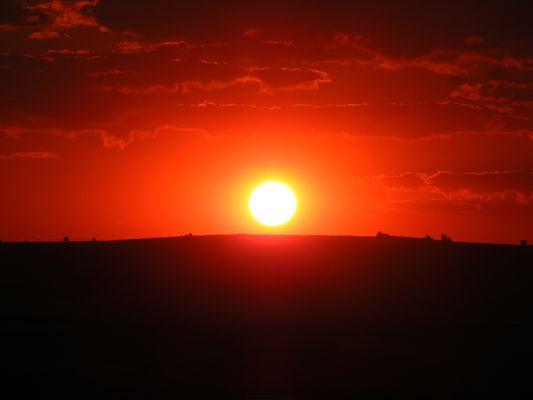 Sonnenuntergang am Bosborus