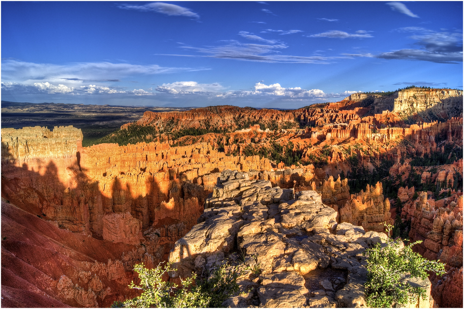 Sonnenuntergang am Bryce Canyon